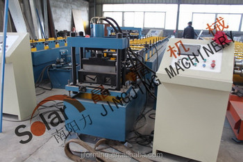 gutter cold roll forming machine