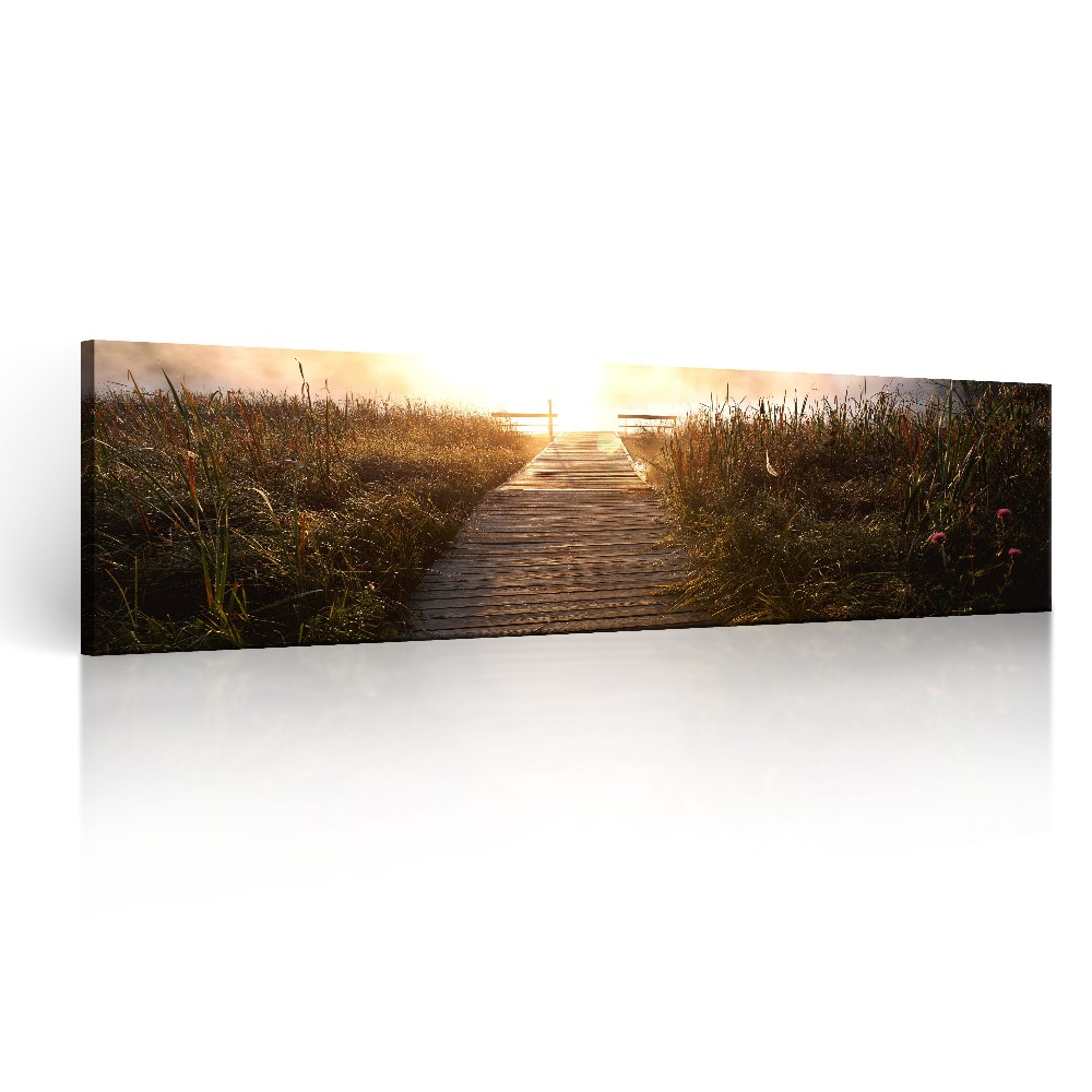 Modern Art Sunrise Canvas Prints Framed Canvas Wall Art for Home Decor Bedroom Office