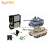 New Design Novel Rc Model Pp 27M United States M1A2 Tank Pk 40M German Tiger Tank Chinese Toy Market Rc Tank