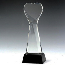 Optical K9 Top Crystal Art Trophy for Sports Rewards -Free Engraving
