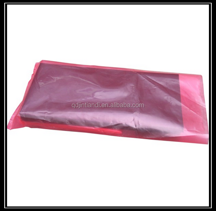 Clear Plastic Ldpe plain poly antistatic bag