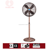 popular powerful 16 inch metal electric stand fan with remote control