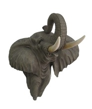 Elephant wall plaque polyresin animal figurines