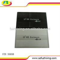 custom aluminum hdd enclosure USB 2.0 3.5