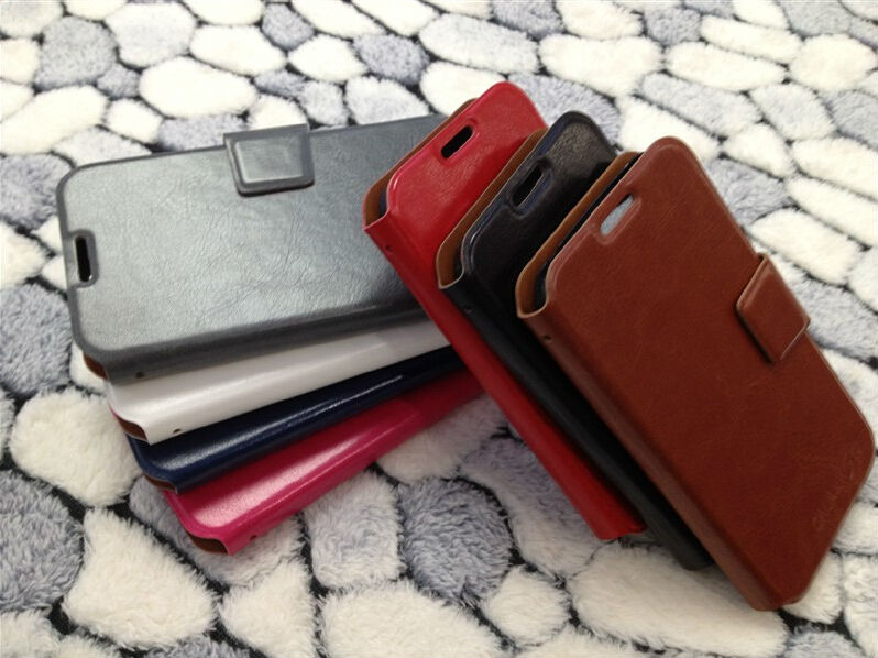 New Fashion Back Cover Flip Leather Cases with card holder For Samsung Galaxy S4 SIV i9500 9500