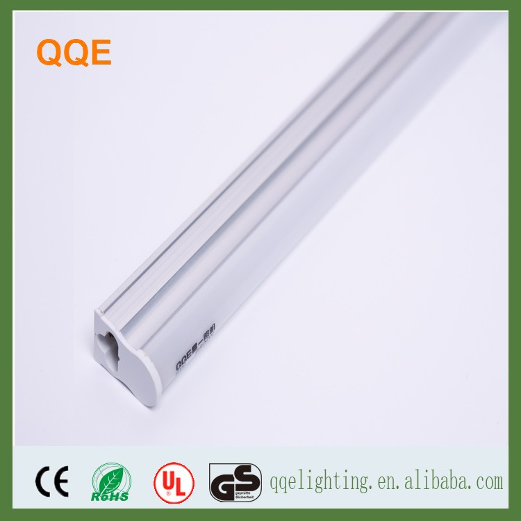 Wholesale high luminous t5 600mm frosted led tube light