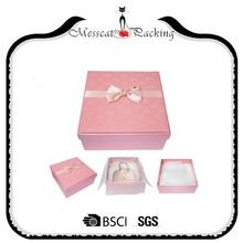 Favour boxes for weddings gift box with silk bow produce from China