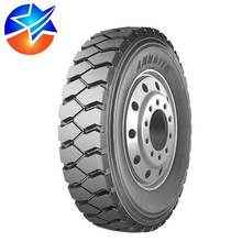 Cheap pattern 600 Annaite brand steer tread radial truck tyre