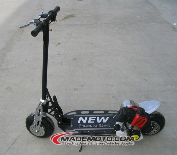 Direct Selling 1.27 Horse Power Black Color Hybrid Motor Scooter For Sale