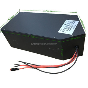 72v 30ah lithium battery pack for 5000w Electric bicycle scooter motorcycle