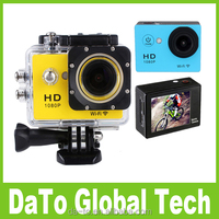 Free Shipping 5PCS W9 30M Waterproof Full HD 1080P Sport Action Camera with Wifi
