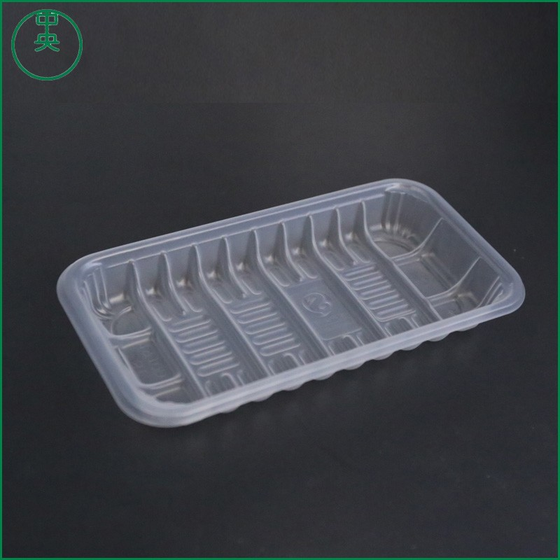 Cooked food tray PP material Delis Use Disposable container 2017 new design plastic Cooked food tray st1912