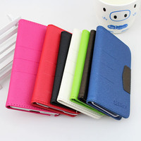 2014 hot selling multicolored pu leather case for iPhone4/4G