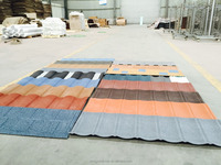 Waterproof and heat resistence roof tiles/sheet metal prices corrugated steel roofing sheet/stone coated steel roofing