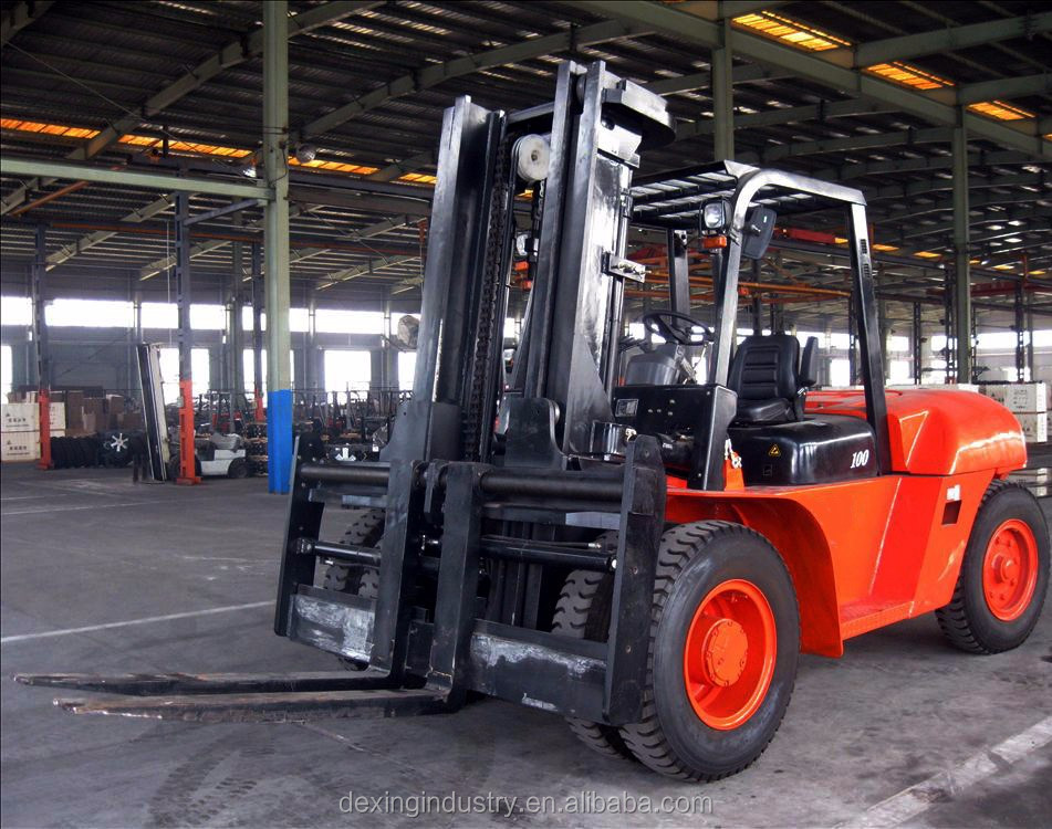 New 7 tonne 10 tonne Dual Pneumatic Wheel Forklift for Sale