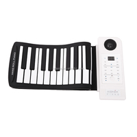 Portable Silicone 61 keys roll up piano