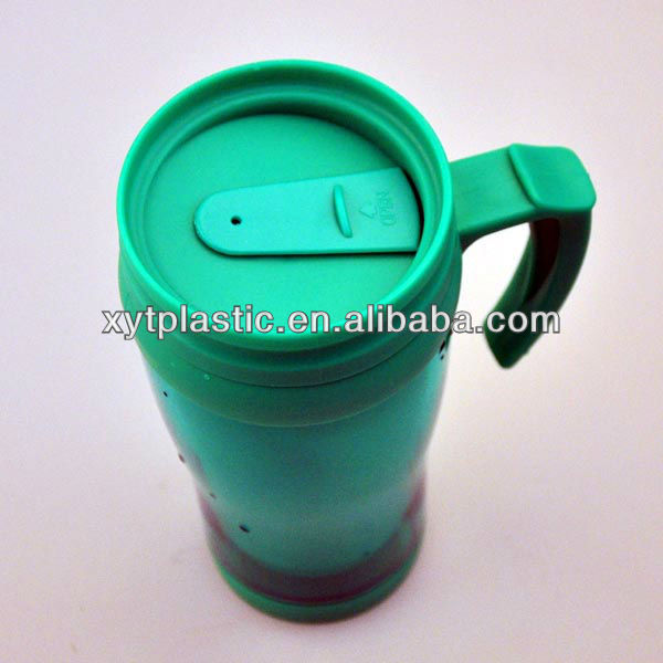 Travel Set 400ML BPA Free Pocket Bike Double Wall Insulated Hot Cups