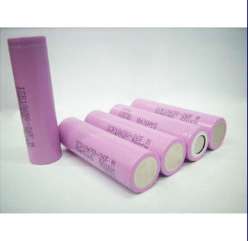 High Power Capacity samsung 3.7V 18650 2600mah /3000 mAh Rechargeable Li-ion Battery