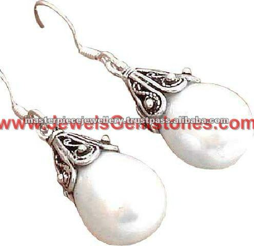 Kashmiri Jhumka 925 Sterling Silver Earrings Online Handmade Indian Silver Jewellery