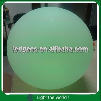 yarn light balls RGB Color changing LED ball/led sphere/LED orbs with remote control