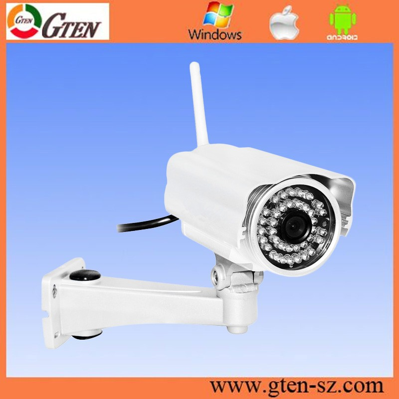 1080p Array IR LED Zoom Lens Network 2MP IP Camera Outdoor Support Video Mask and Special Area Dection
