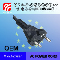 European Plug VDE Power Cord 16A AC Power Cord