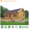 cheap prefab log/wooden house