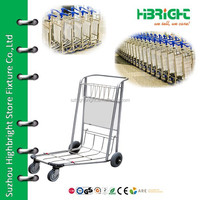 airport hand luggage carts