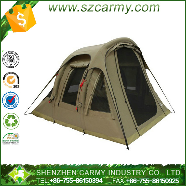 6 to 8 person capacity outdoor inflatable air camping tent
