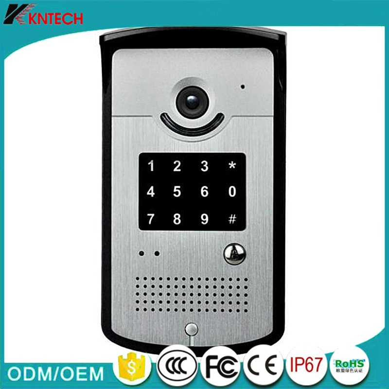 KNTECH Video Door Phone KNZD-42VR Entrance Guard Door Control Video Door Phone with Keypad