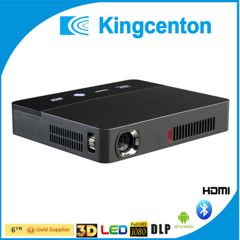 Full HD pico 3D shutter DLP projector,convert 2D to 3D mini dlp led projector