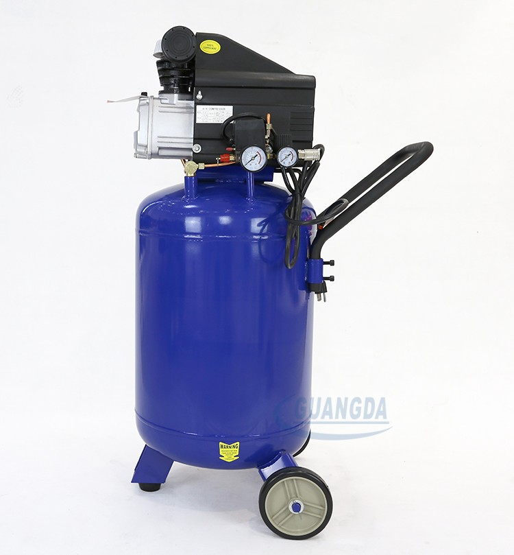 China factory best price 220V 80L piston type mobile portable compressor