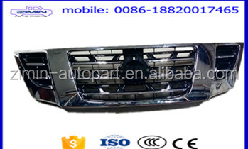 ZiMin HIGH QUALITY PATROL Y62 FRONT GRILLR CAR CHROME FRONT GRILLE FOR N-ISSAN PATROL Y61 Y62 2014