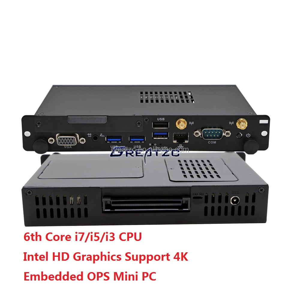 i5 6200U Embedded Computer,Professional Supplier of OPS Mini PC With i7/i5/i3 Processor,OPS Embedded PC Support 4K ZC-OPS6200