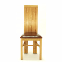 Famous hand shaped restaurant wooden single chair