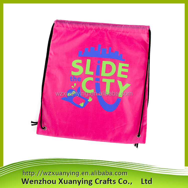 China Manufacturer Custom Printed Shopping women nylon bag