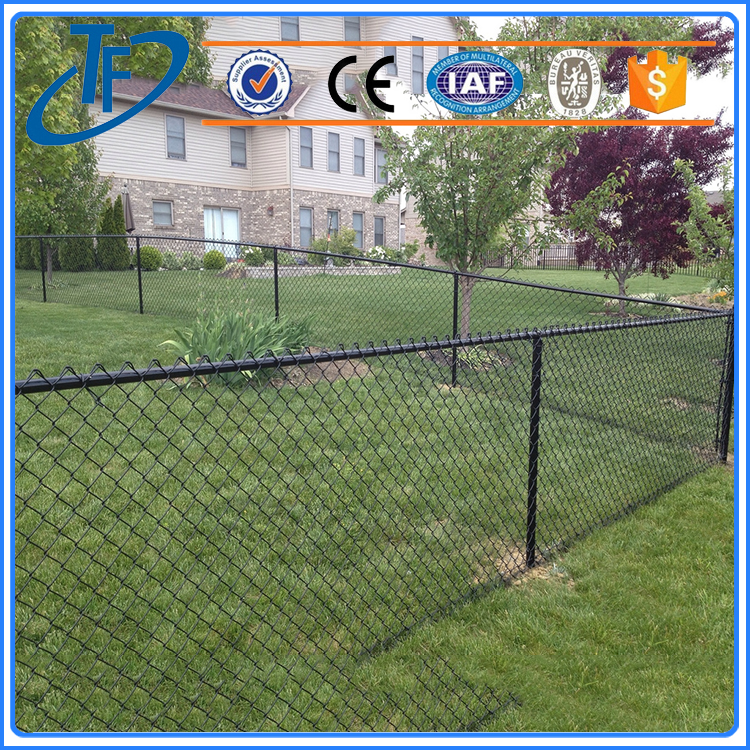 Factory Direct chain link wire fence and chain link perimeter fence designs