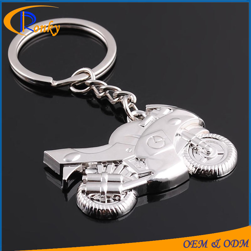 Top sale new gadgets 2016 promotion gifts motorcycle motor metal key chain ring