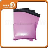 packaging retail pink poly mailer courier bags