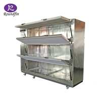 Used for hospital mortuary 3 cadavers cooler box bead body freezer on hot sale