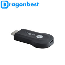 M2 ezcast wifi display miracast smart tv dongle stick for smartphone support DLNA ipush airplay android tv box