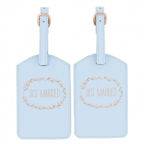 wholesale cheap custom luggage tags wedding favor leather made in China