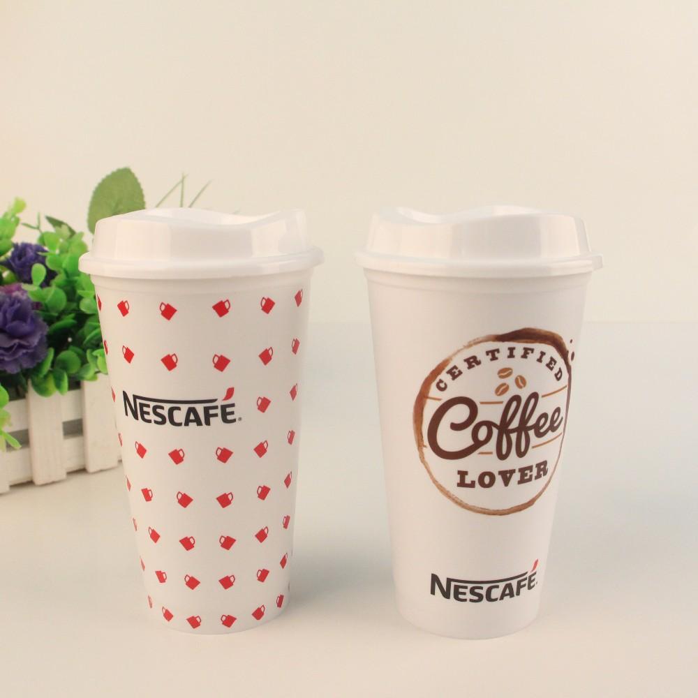 Bpa Free Food Grade Pp Microwaveable Coffee Cups With Logo