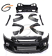 C STYLE HALF CARBON FIBER BODY KIT FOR NISSAN GTR R35 2008 UPDATE 2017
