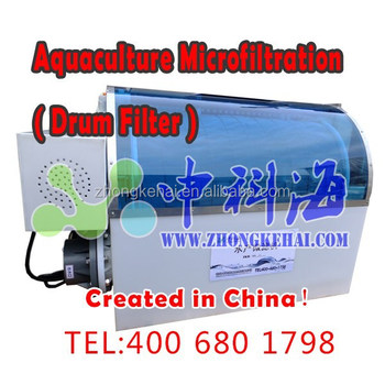 Aquaculture microfiltration machine