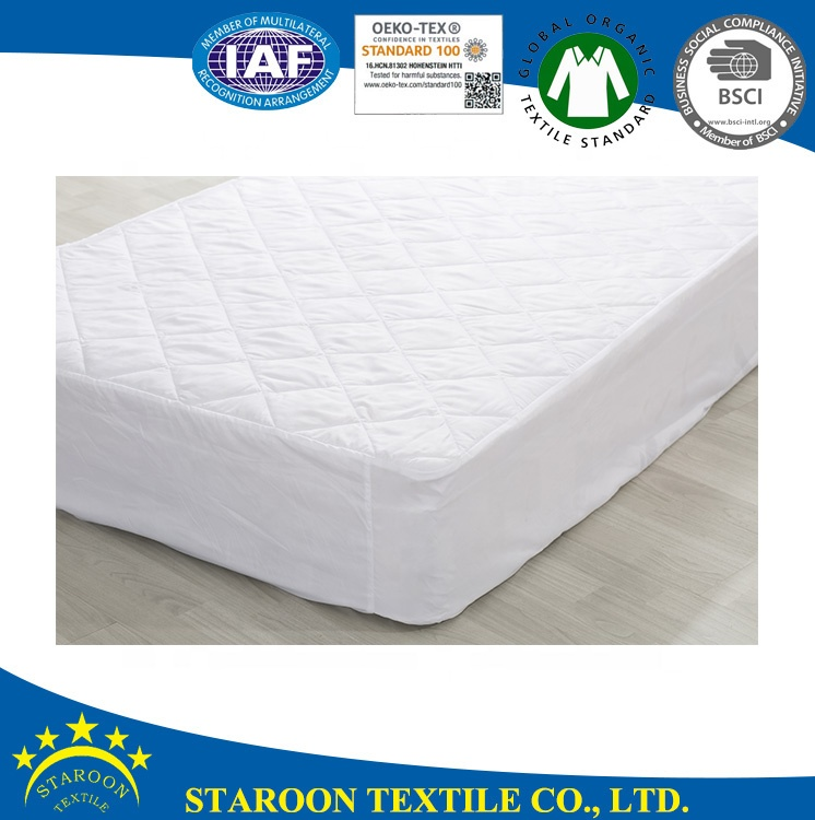Jiaxing manufacturer supply breathable waterproof elastic mattress protector cover with elastic belt - Jozy Mattress | Jozy.net