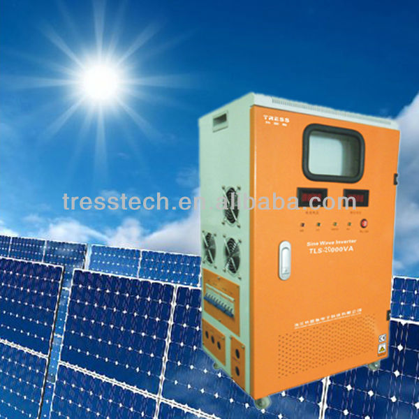 DC to AC solar wind hybrid power inverter 20kw with CE certificate