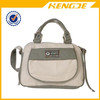 china manufacture lady fashion canvas travel shoulder handbag