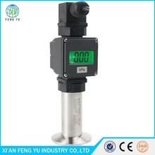 Chinese Supplier Taobao Hot Sale IP65 Intrinsic Safe Smart Sanitary Type Pressure Transmitter for Olive Oil