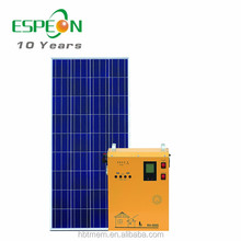 Portable 500w solar complete generator and solar panel system LCD display